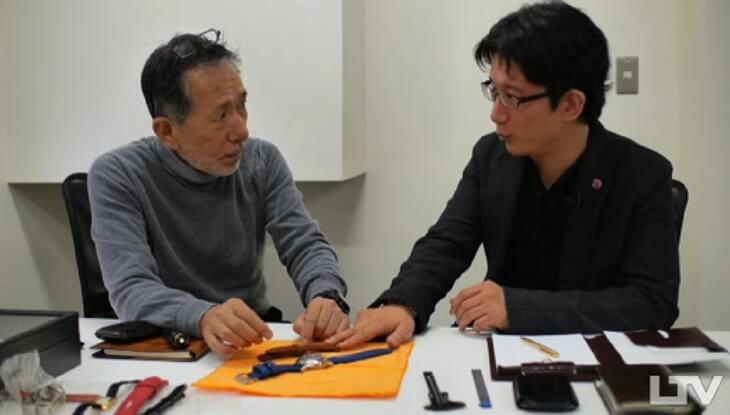 岸田愛用パネライ1950 with ガルーシャベルト KOJIMAX LUXURY TV KOJIMAX (3)