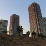 東雲11本目のタワーマンション『パークタワー東雲』完成間近。