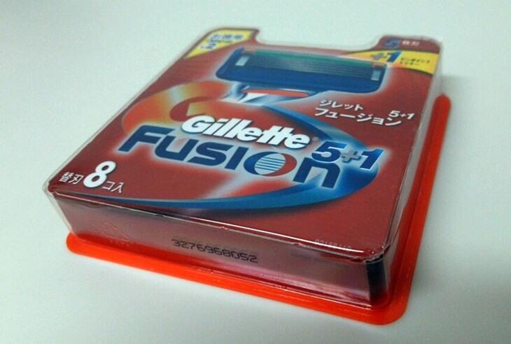 ジレット フュージョン Gillette Fusion 5+1  8個入り(1)