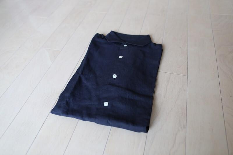 エディフィス 麻半袖シャツ EDIFICE shirts (1)