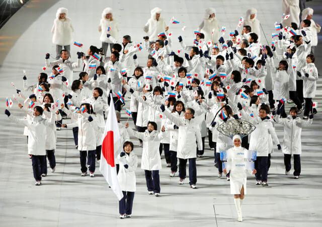 ソチオリンピック開幕!開会式の各国選手団ユニフォーム 日本 Japan_sochi_Olympic-opening-ceremonies-uniforms