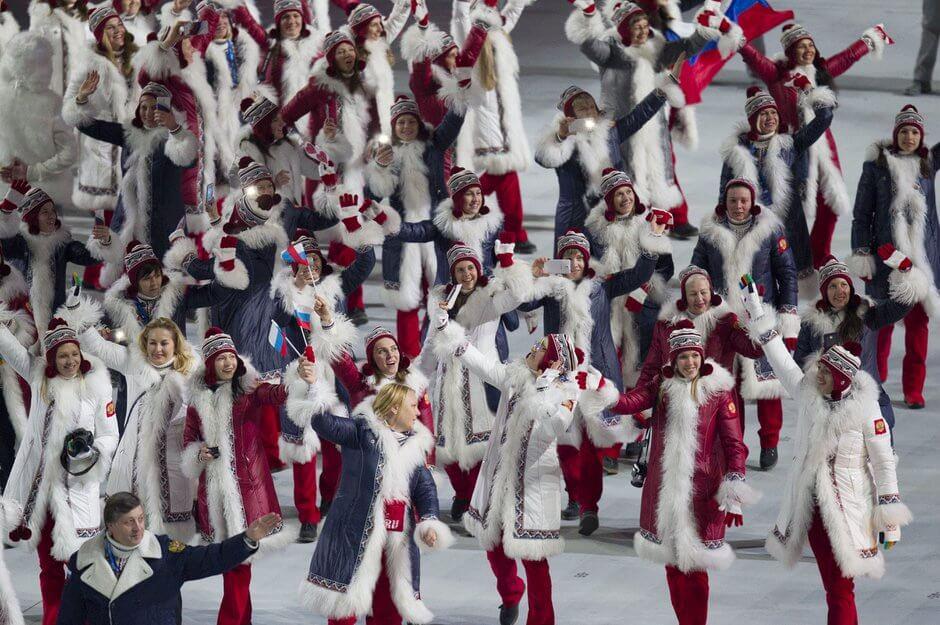 ソチオリンピック開幕!開会式の各国選手団ユニフォーム ロシア RUSSIA_sochi_Olympic-opening-ceremonies-uniforms
