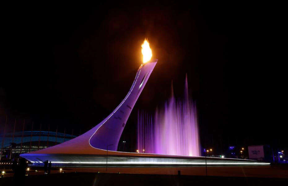 ソチオリンピック 聖火台