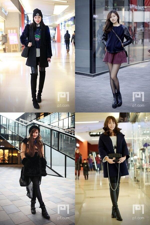 中国P1の美女スナップ写真 china girl (4)