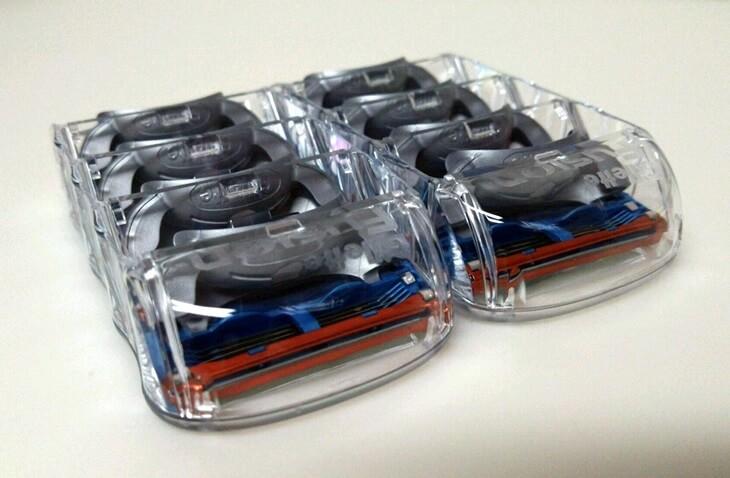 ジレット フュージョン Gillette Fusion 5+1  8個入り (3)