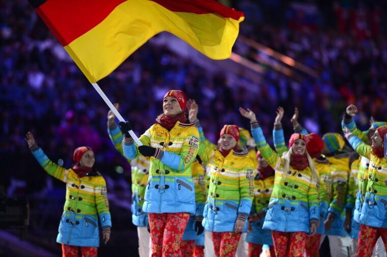 ソチオリンピック開幕!開会式の各国選手団ユニフォーム ドイツ germany_sochi_Olympic-opening-ceremonies-uniforms