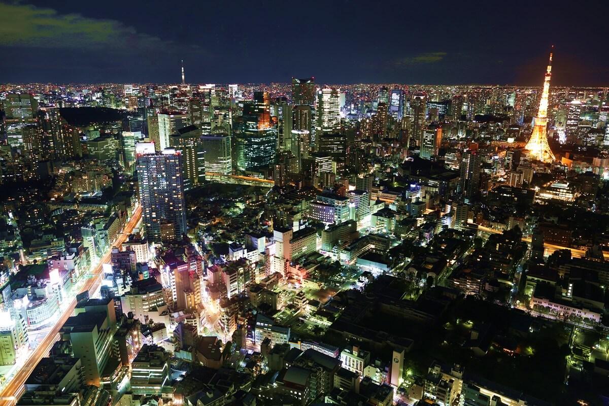 六本木ヒルズ 東京シティービュー 加工あり tokyo city view (6)