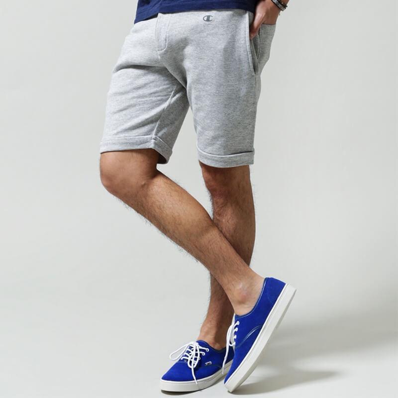 チャンピオン別注スウェットショーツ ナノユニバース Champion×nano・universe swet shorts