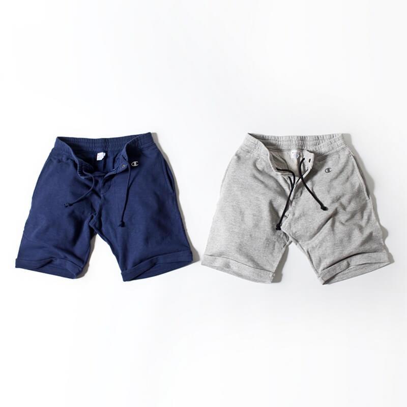 チャンピオン別注スウェットショーツ ナノユニバース Champion×nano・universe swet shorts (4)