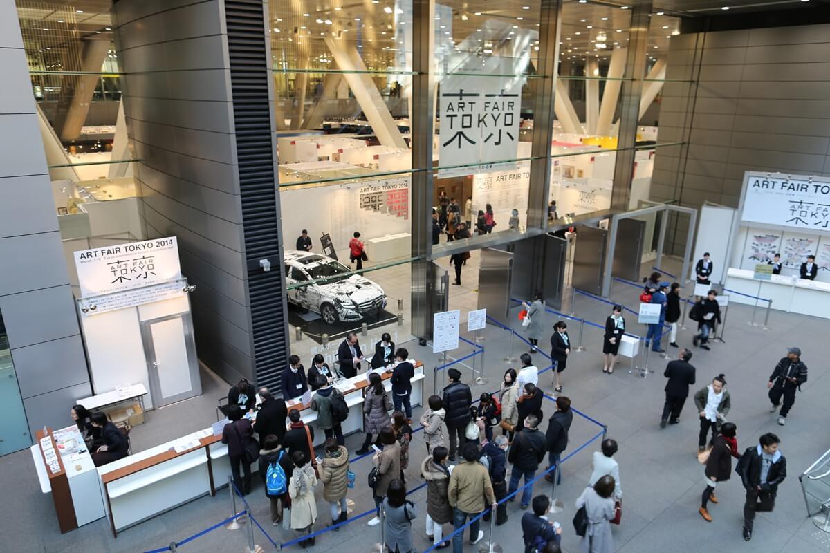 東京アートフォーラム in 東京国際フォーラム ART FAIR TOKYO 2014 (1)