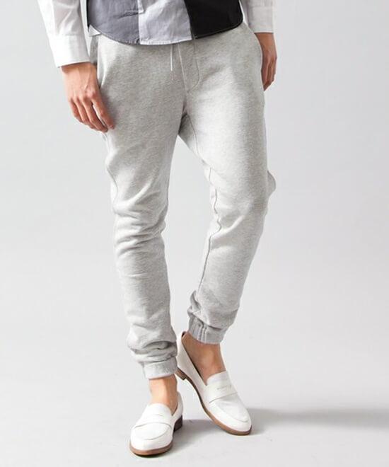 ビューティアンドユース ユナイテッドアローズ  BY ∴ ウラケ/スウェット パンツ スリム BEAUTY&YOUTH UNITED ARROWS swet pants
