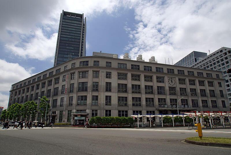 旧東京中央郵便局 Tokyo Chuo Post Office