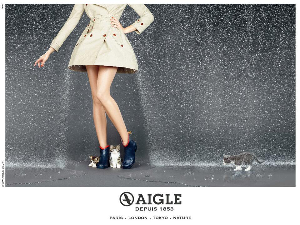 エーグル レインブーツ ポスター aigle (3)