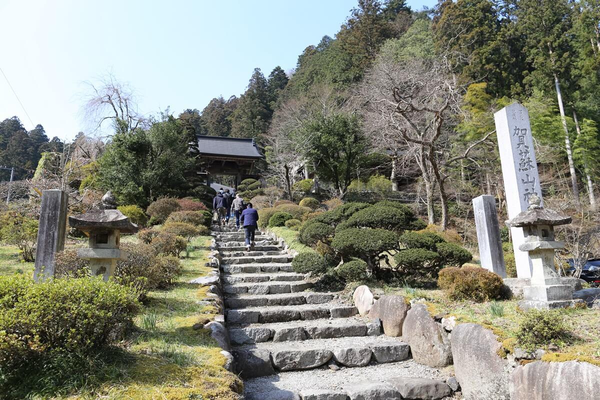 賀蘇山神社  神門