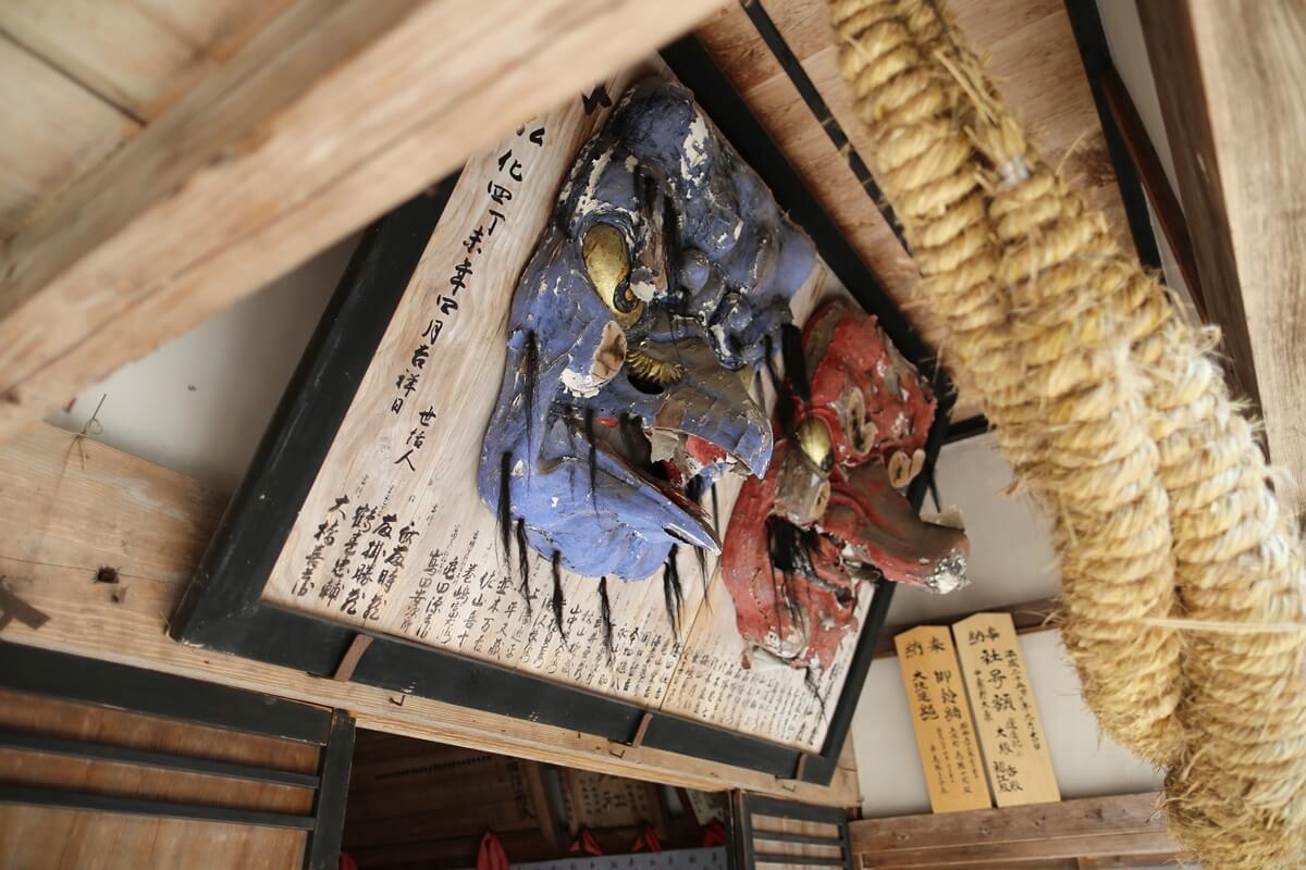 賀蘇山神社 (5)天狗