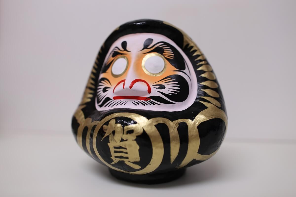 賀蘇山神社 黒ダルマ