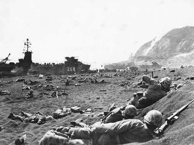 硫黄島の戦い iwojima war2 (1)