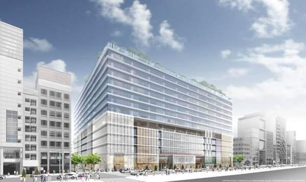 銀座六丁目10地区第一種市街地再開発事業 The construction of the Ginza 6-Chome 10 District Redevelopment (2)
