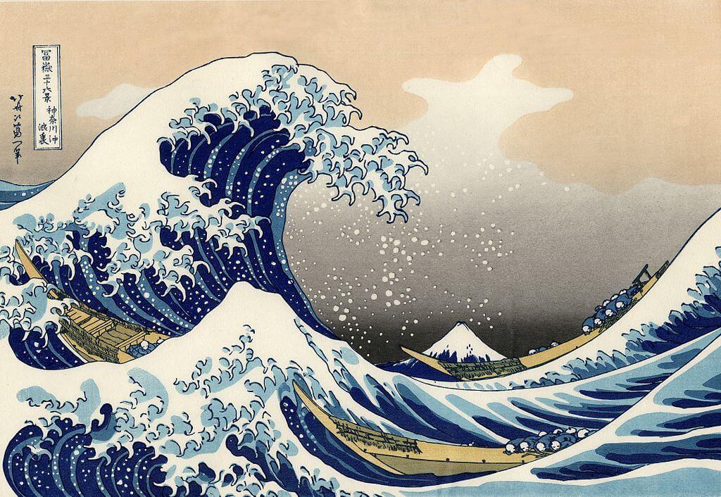 富嶽三十六景 神奈川沖浪裏(葛飾北斎) The_Great_Wave_off_Kanagawa