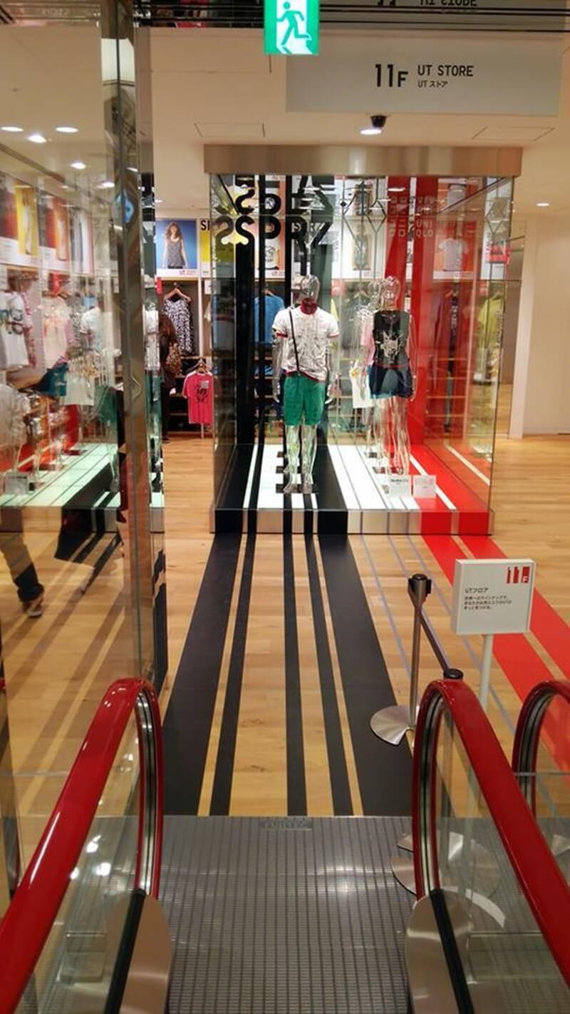 ユニクロ銀座店から松坂屋跡地再開発を観察する。UNIQLO GINZA (2)