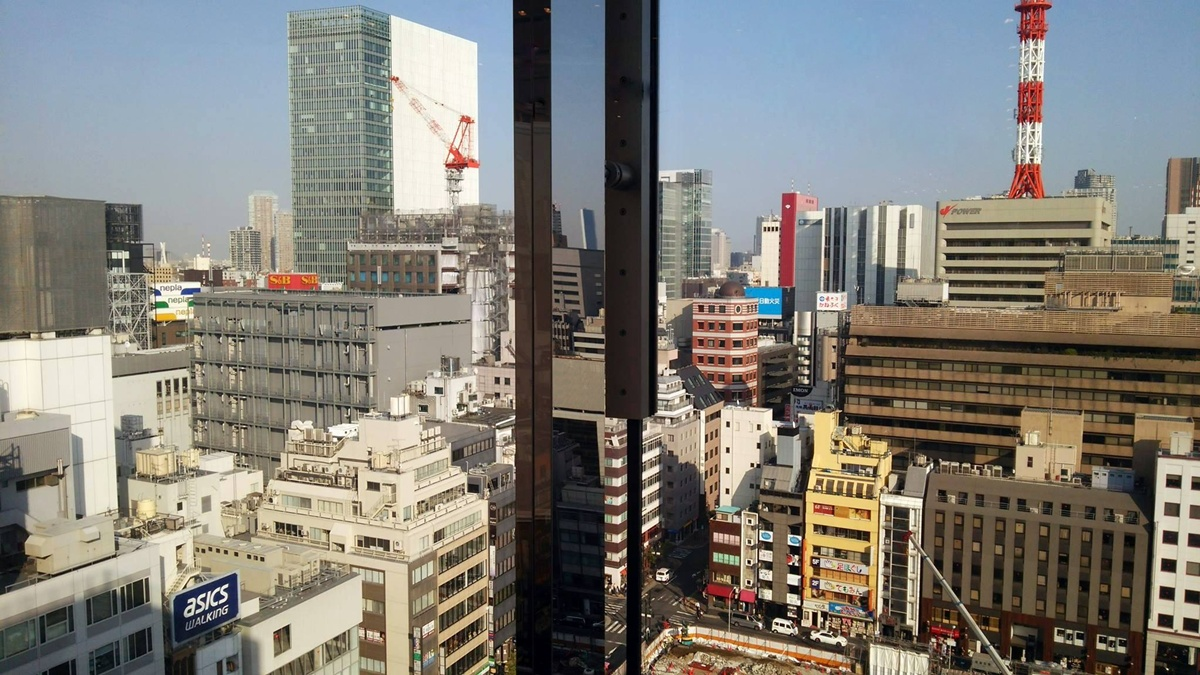 ユニクロ銀座店から松坂屋跡地再開発を観察する。UNIQLO GINZA (5)