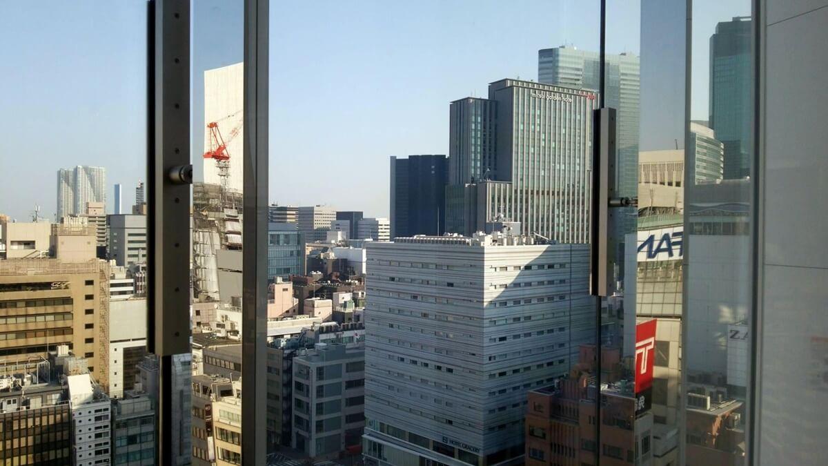 ユニクロ銀座店から松坂屋跡地再開発を観察する。UNIQLO GINZA (6)