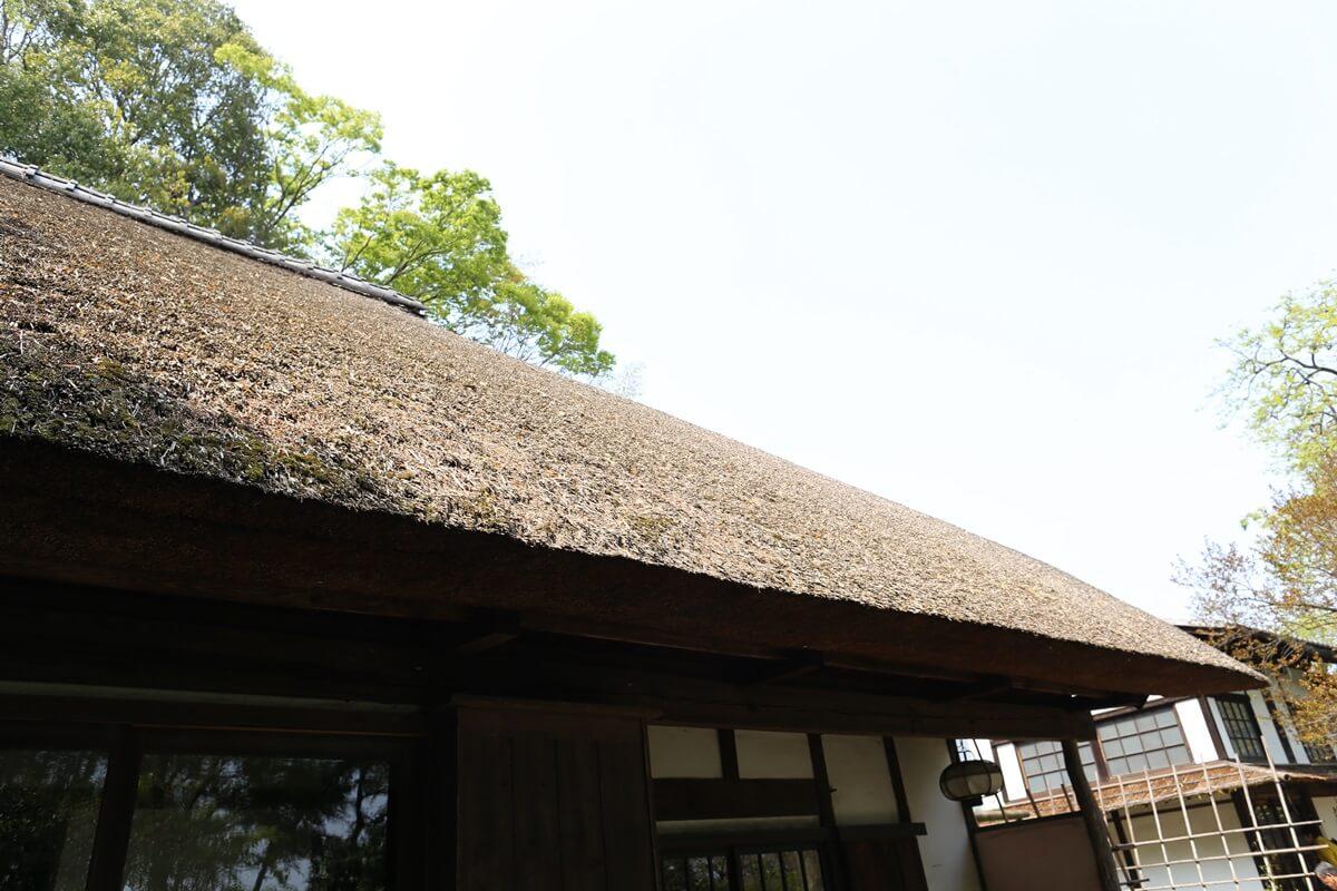 白洲次郎 武相荘 藁ぶき屋根 buaisou_jiro_shirasu (48)
