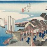 『 広重ブルー – 世界を魅了した青 』 in 太田記念美術館。