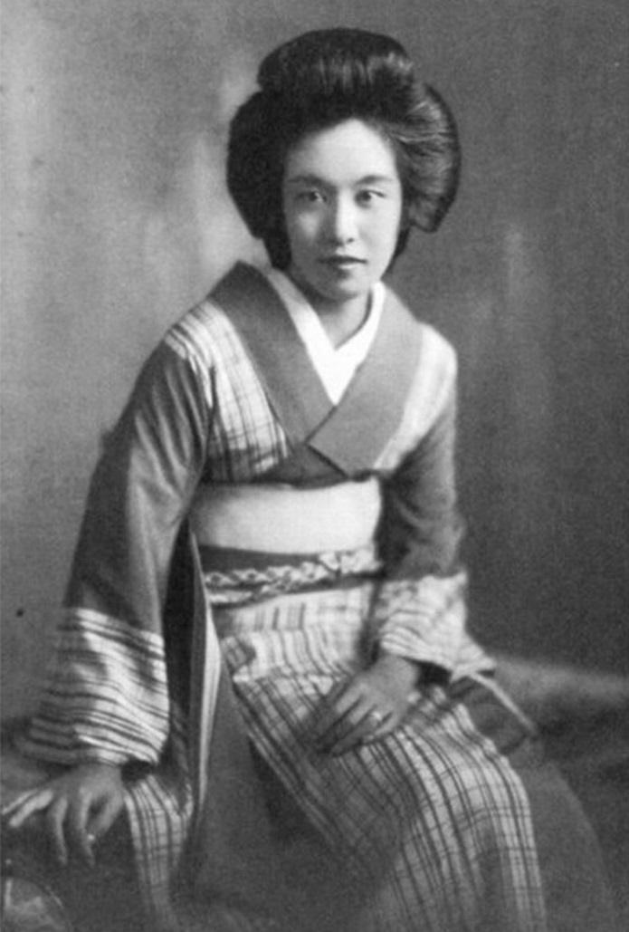 masako-shirasu 若き日の白洲正子