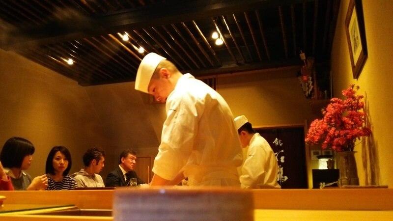 店内 鮨 石島 銀座一丁目 新富町 sushi ishijima (11)