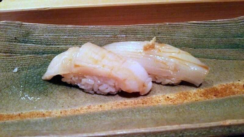 ホタテ・烏賊 鮨 石島 銀座一丁目 新富町 sushi ishijima (2)