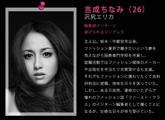 ファーストクラス 吉成 ちなみ(よしなり ちなみ)〈26〉演 - 沢尻エリカ first class (1) erika sawajiri
