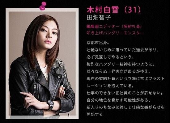 ファーストクラス 木村 白雪(きむら しらゆき)〈31〉田畑智子 first class (8)tomoko tabata