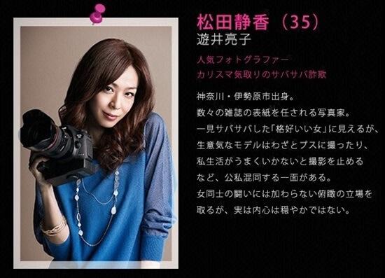 ファーストクラス 松田 静香(まつだ しずか)〈35〉遊井亮子 first class ryoko yui