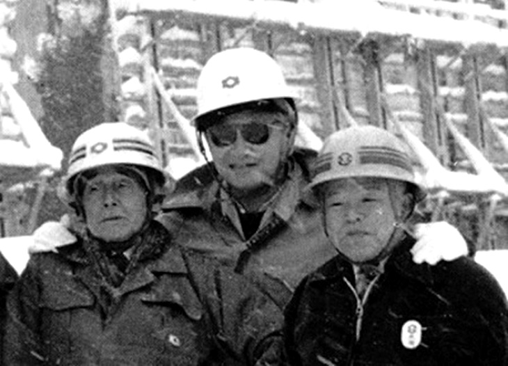 東北電力会長時代の白洲次郎