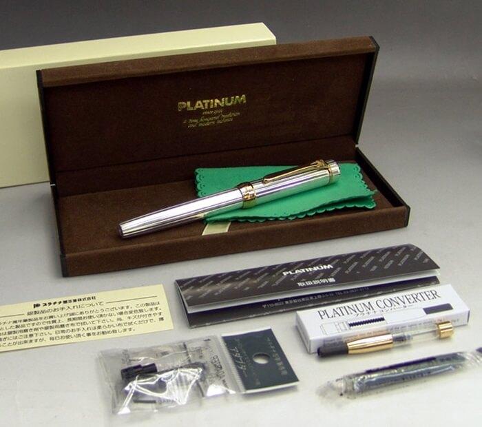 プラチナ万年筆 スターリングシルバー platinum-pen PTS-50000