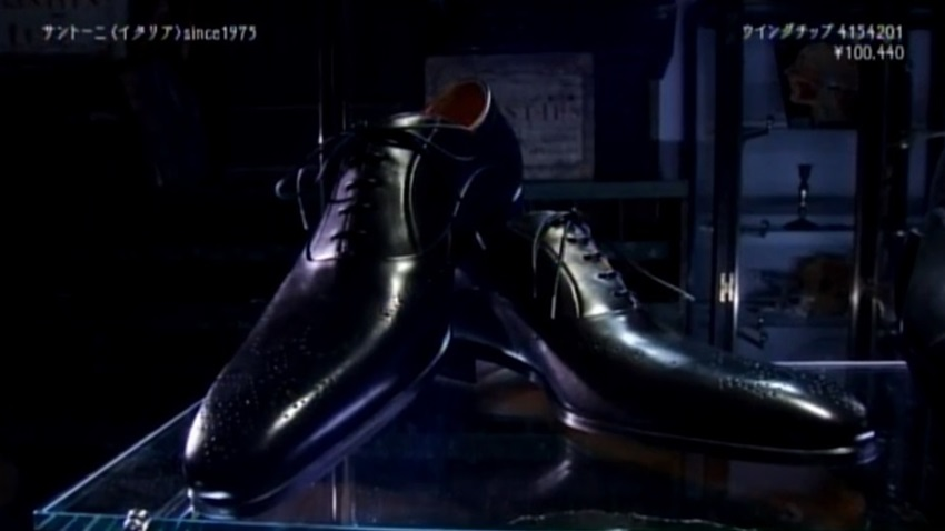 俺のダンディズム 第3話靴編 サントーニ santoni