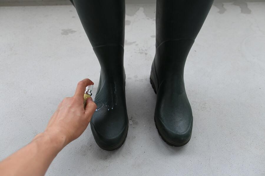 ルシャモー ラバーブーツ メインテナンス方法 Le Chameau rabber boots (3)