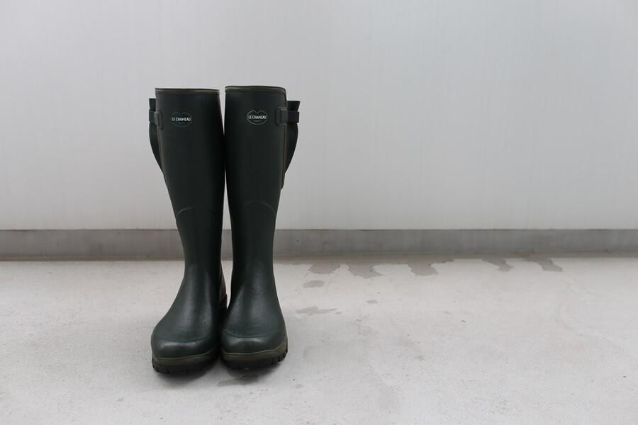 ルシャモー ラバーブーツ メインテナンス方法 Le Chameau rabber boots (6)
