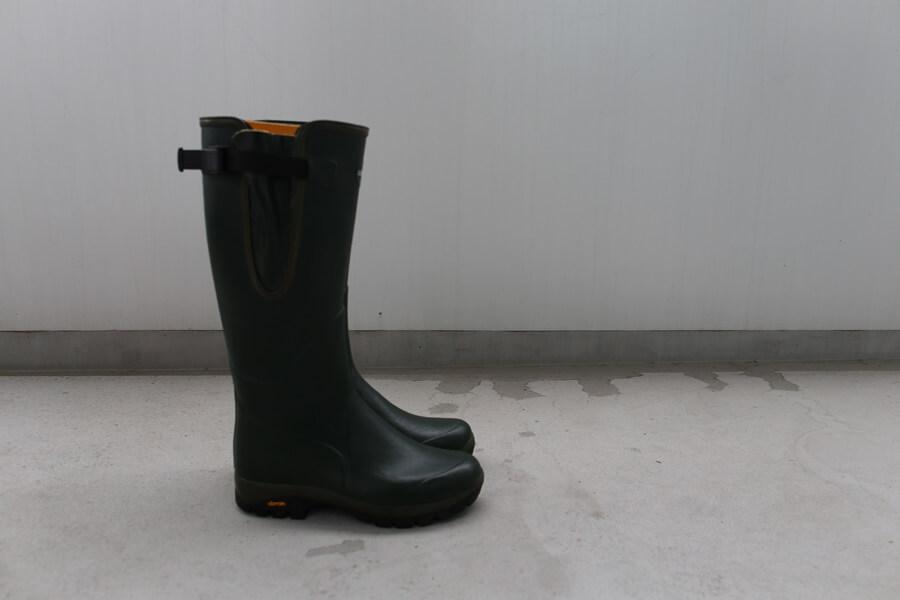 ルシャモー ラバーブーツ メインテナンス方法 Le Chameau rabber boots (7)