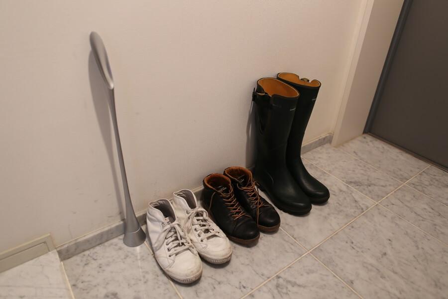 ルシャモー ラバーブーツ メインテナンス方法 Le Chameau rabber boots (8)