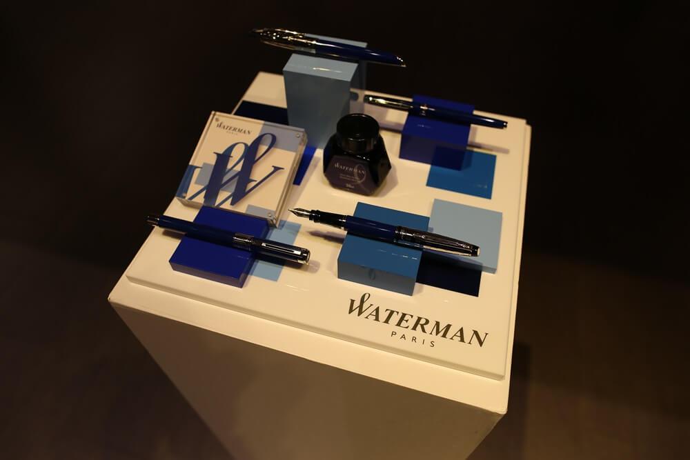 万年筆 ウォーターマン 2014年新製品 「ブルーオブセッション」コレクション 発売記念イベント WATERMAN Blue Obsession Tokyo Exhibition fountain pen (1)
