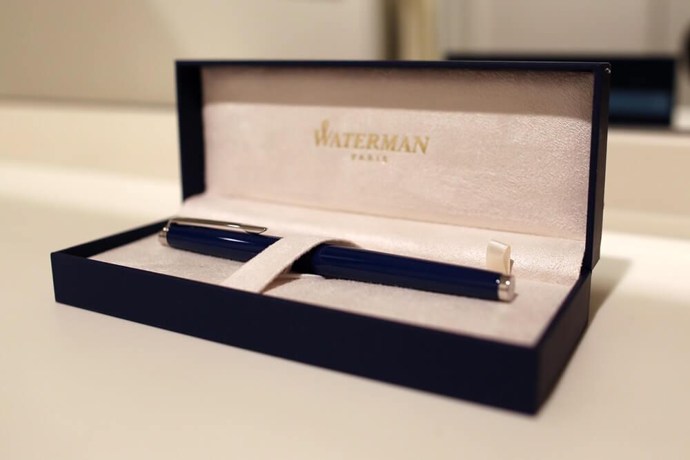 メトロポリタン エッセンシャル ブルーCTー万年筆 12,000円  ウォーターマン 2014年新製品 「ブルーオブセッション」コレクション 発売記念イベント WATERMAN Blue Obsession Tokyo Exhibition fountain pen (16)