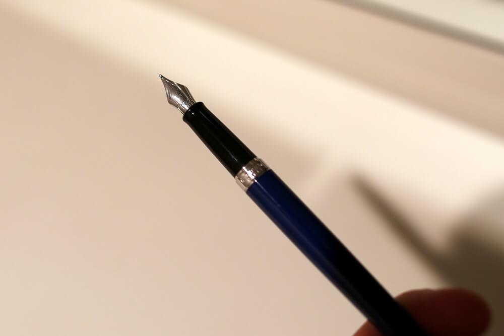 メトロポリタン エッセンシャル ブルーCTー万年筆 12,000円  ウォーターマン 2014年新製品 「ブルーオブセッション」コレクション 発売記念イベント WATERMAN Blue Obsession Tokyo Exhibition fountain pen (18)
