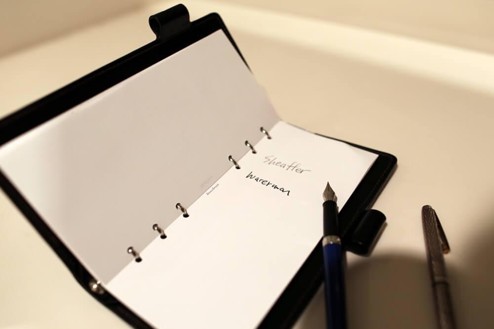 メトロポリタン エッセンシャル ブルーCTー万年筆 12,000円  ウォーターマン 2014年新製品 「ブルーオブセッション」コレクション 発売記念イベント WATERMAN Blue Obsession Tokyo Exhibition fountain pen (19)