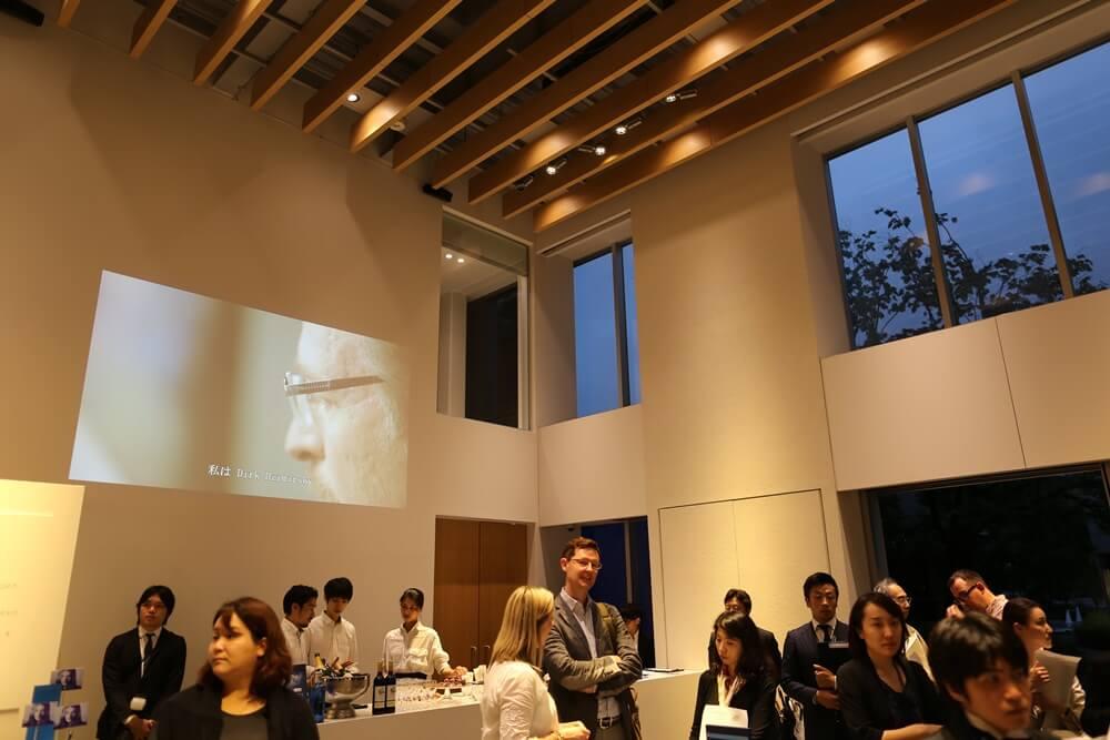 万年筆 ウォーターマン 2014年新製品 「ブルーオブセッション」コレクション 発売記念イベント WATERMAN Blue Obsession Tokyo Exhibition fountain pen (9)