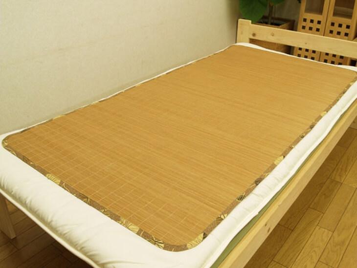 竹あじろ(竹シーツ) bamboo seats  (1)