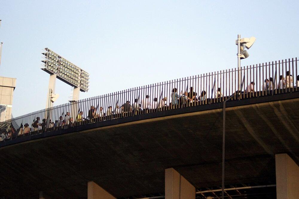 ブルーインパルス さよなら国立競技場 SAYONARA FOR FUTURE  blue inpuls and National Olympic Stadium (35)