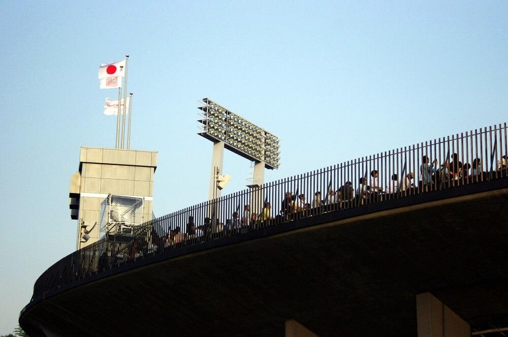 ブルーインパルス さよなら国立競技場 SAYONARA FOR FUTURE  blue inpuls and National Olympic Stadium (36)