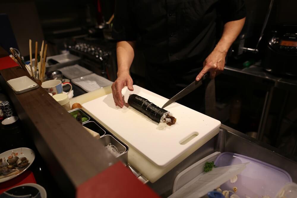 酒料理 菰野 牛肉のしぐれ煮巻き